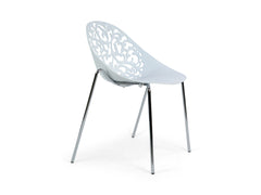 White Dining Chair Type 2 Replica