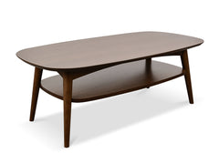 Scandinavian Coffee Table - Walnut