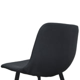 Duke Bar Stool in Black x 2