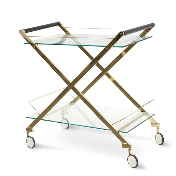Golden Polish Bar Cart