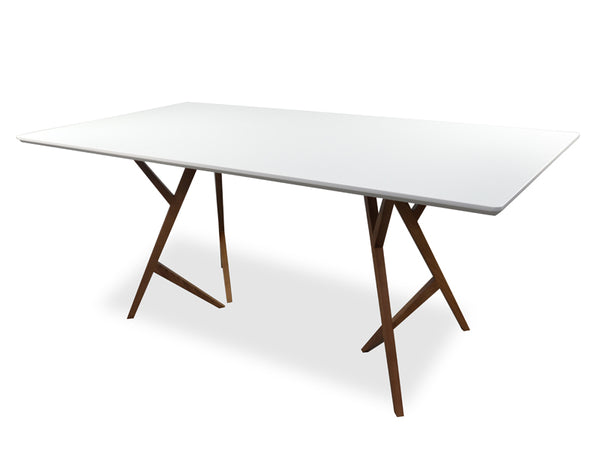 1.8m Long Rectangular Devan Dining Table