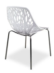 Gloss White Dining Chair Replica
