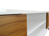 2m TV Entertainment Unit - Lowline - Walnut