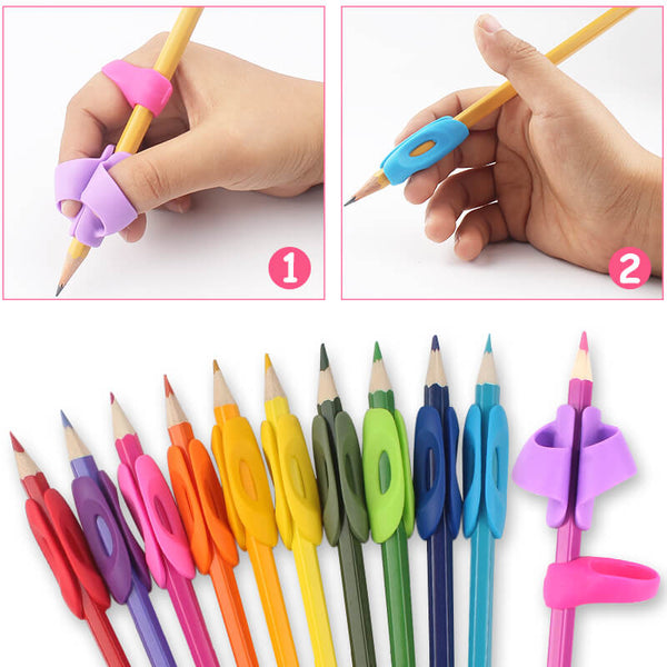 brushes pens etc good for fingers with arthritis 6 X Soft grips for pencils