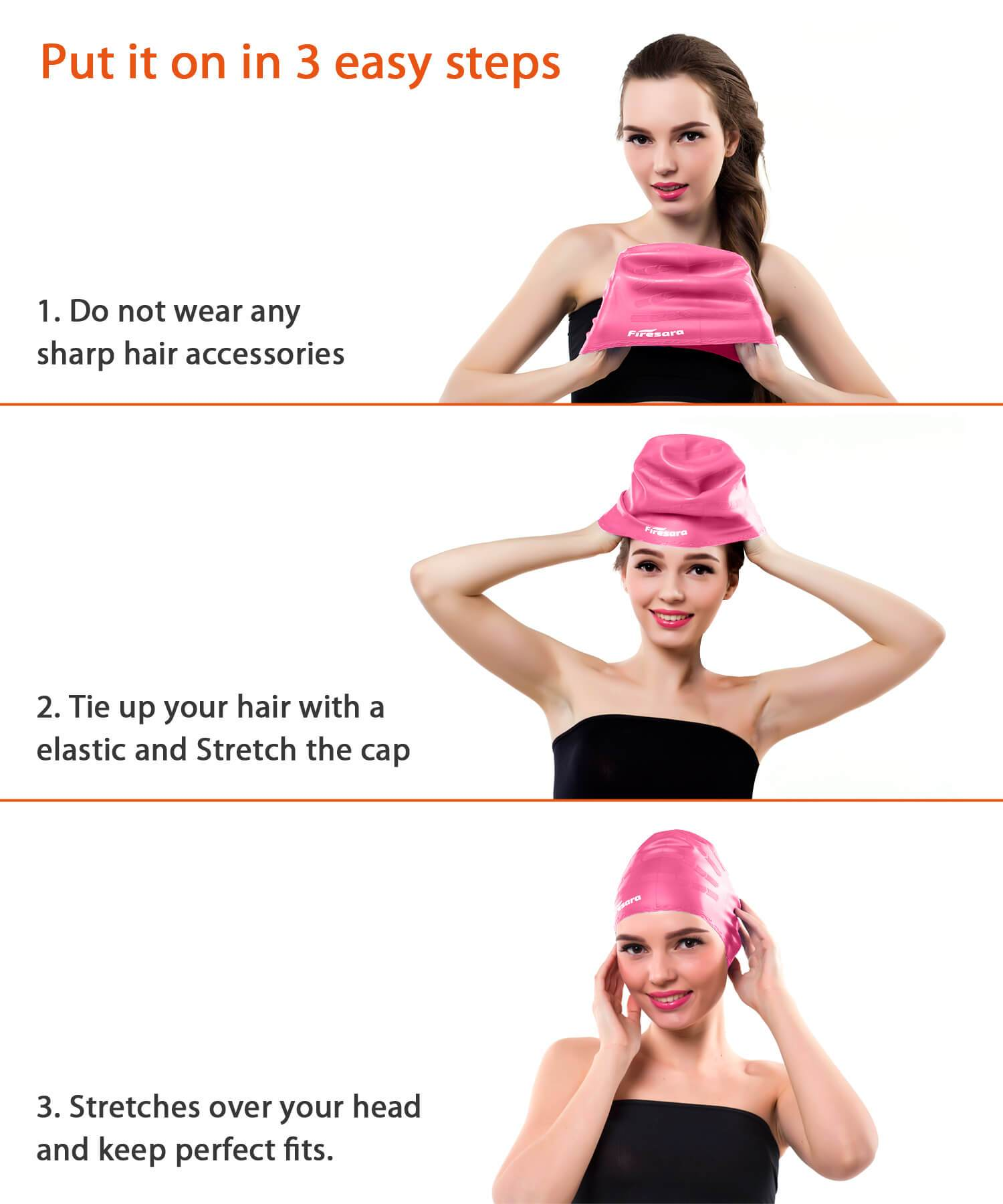 swim cap method