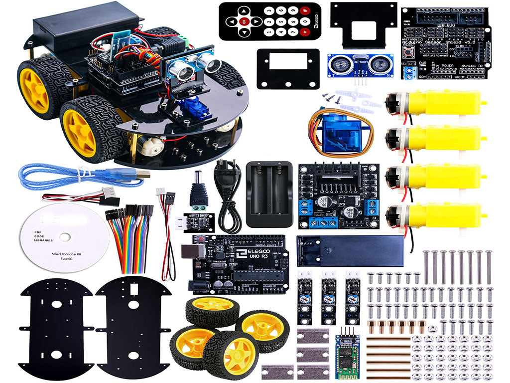 Remote Control Bluetooth Robotics Learning-Educational Toys