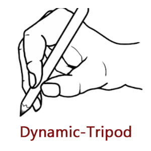 dynamic tripod pencil grasp