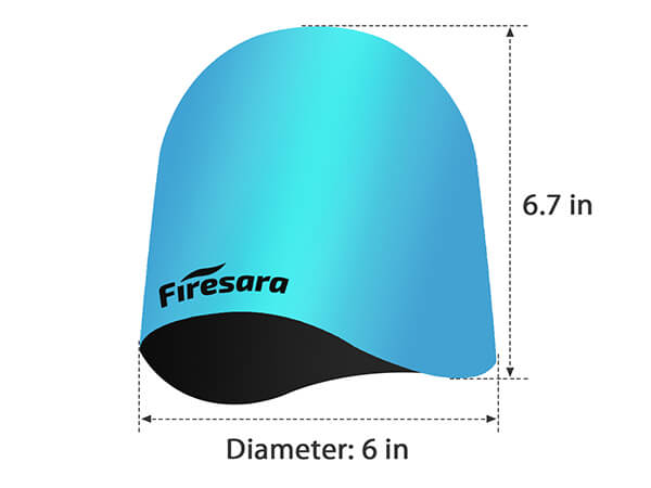 sizes and shapes of swim cap
