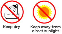 keep away from sun button
