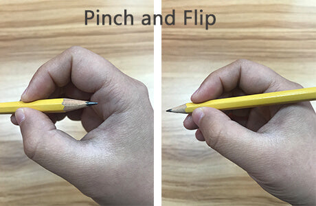 pinch and flip