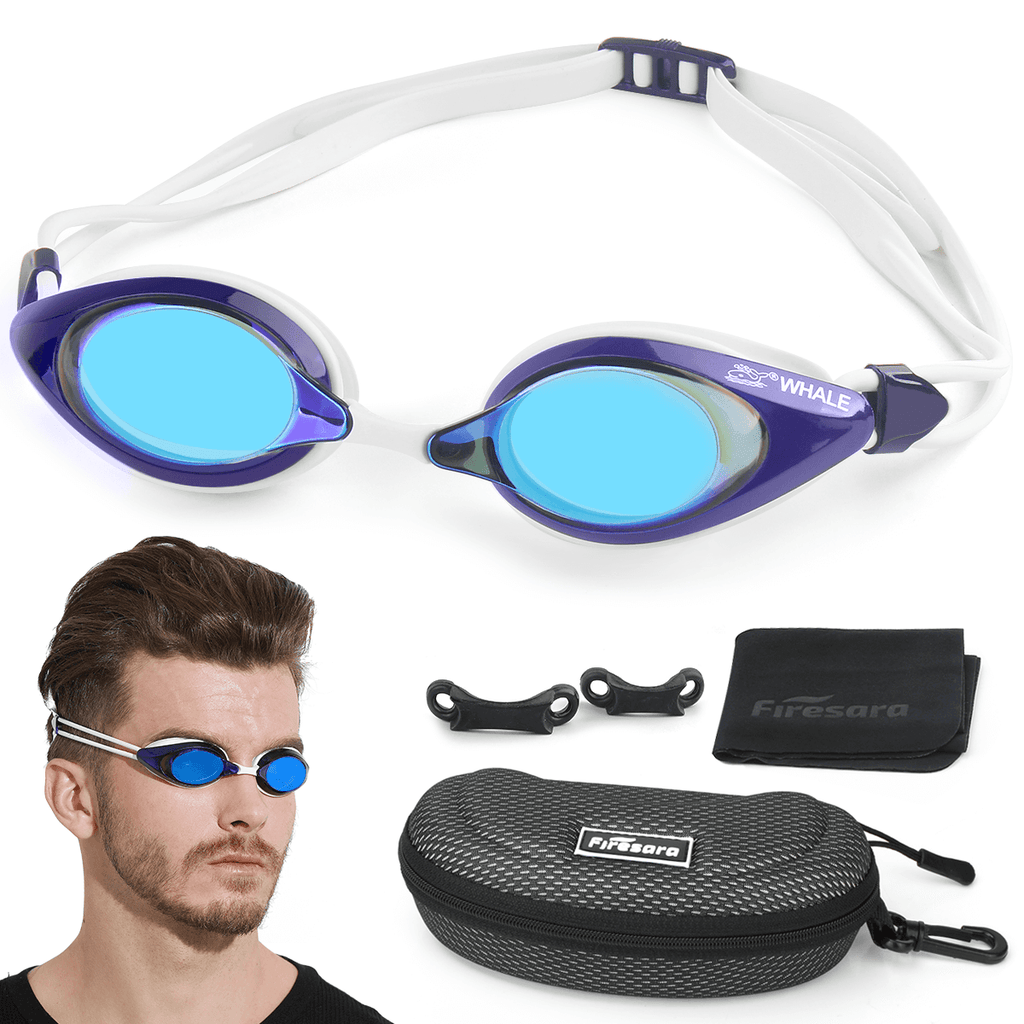 what's included in anti fog swim goggles