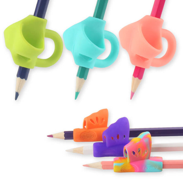 6pcs pencil grips for kindergarten students firesara