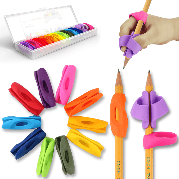 training pencil grips rainbow 2019 new