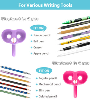 what writing utensils the firesara new elephant grips are good for