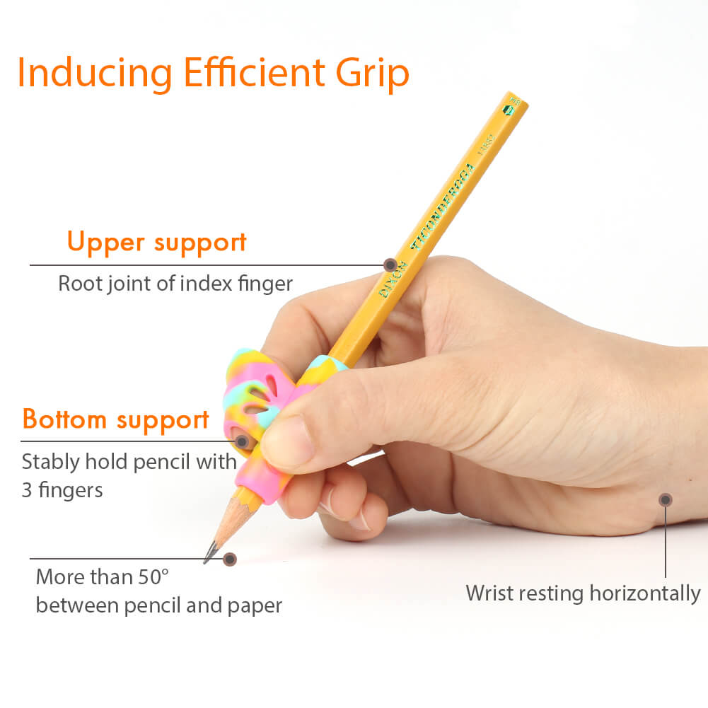 right handed pencil grips for efficient tripod grip