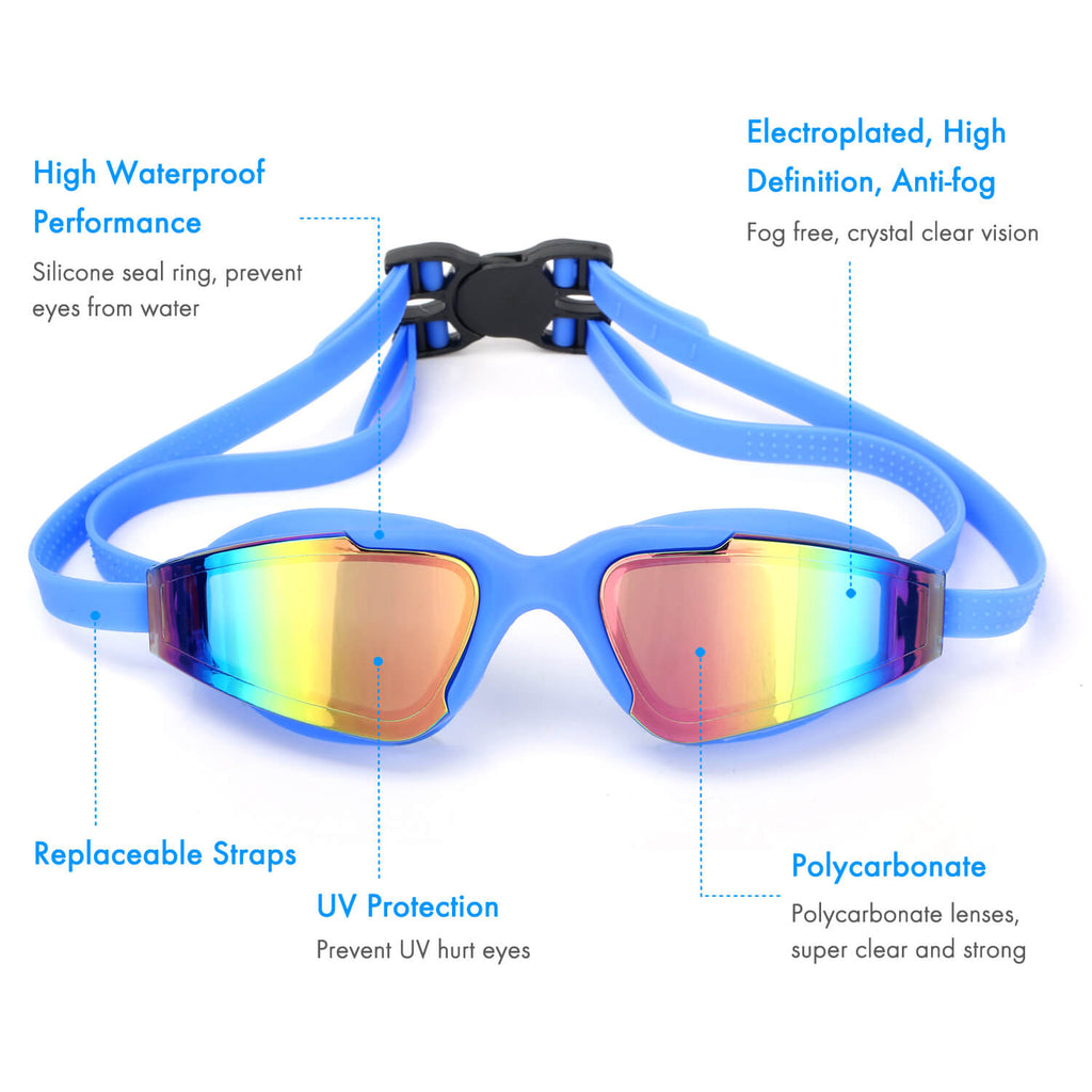 5 features of firesara pool goggles blue