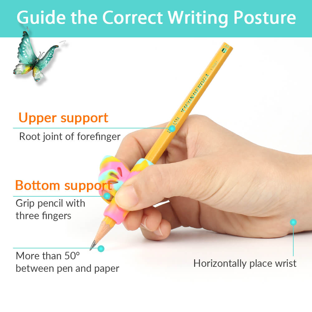 posture of pencil grips for kindergarten firesara