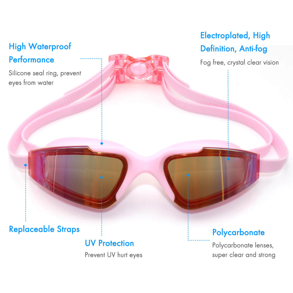 5 features of firesara pool goggles pink
