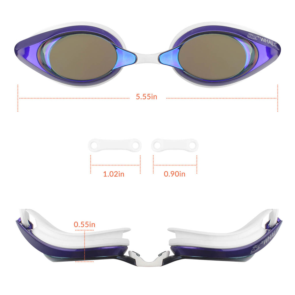 sizes of firesara goggles for pool swimming anti fog