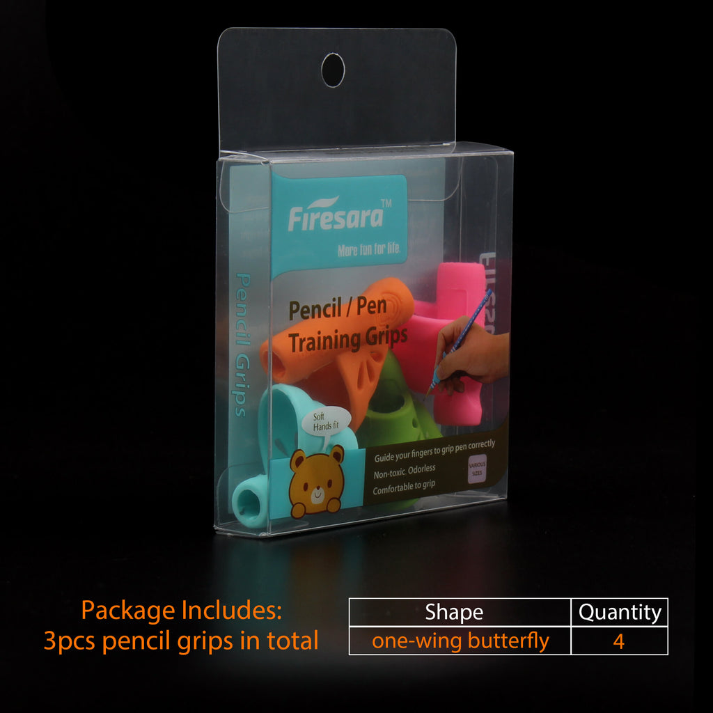 package box of pen writing aid grip