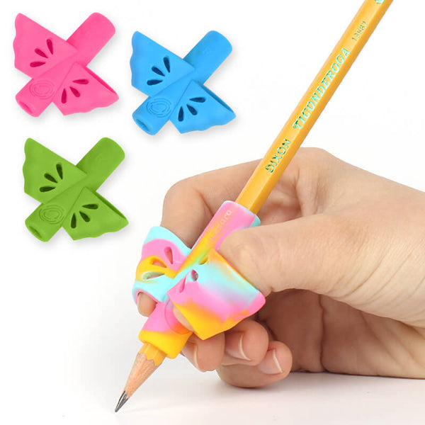 4pcs butterfly wing ergonomic writing aid for righties firesara