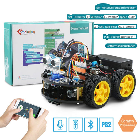 Remote Control Bluetooth Robotics Learning-Educational Toys for Children