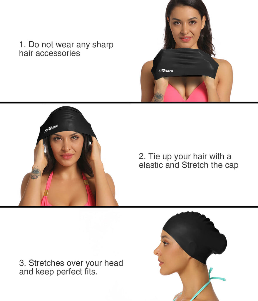 wear_fashionable_swim_cap_firesara_black