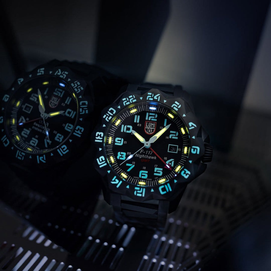 F-117 Nighthawk, 44 mm, Pilotenuhr - 6422,3