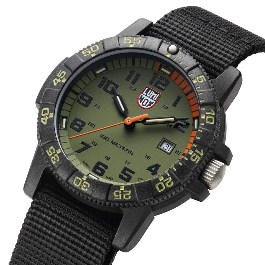 Leatherback SEA Turtle Giant, 44 mm, Outdoor Uhr - 0337,4