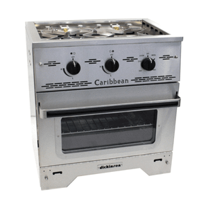 Dickinson Caribbean Two Burner Gas Stove - ShopGreenLiving.com