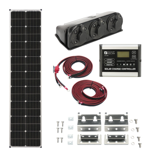 Zamp Solar 90-Watt Long Roof Mount Kit - ShopGreenLiving.com