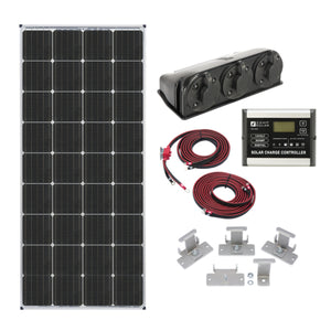 Zamp 170-Watt Deluxe Solar Kit - ShopGreenLiving.com