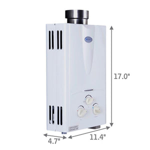 Marey 2.0 Liquid Propane Tankless Gas Water Heater - ShopGreenLiving.com