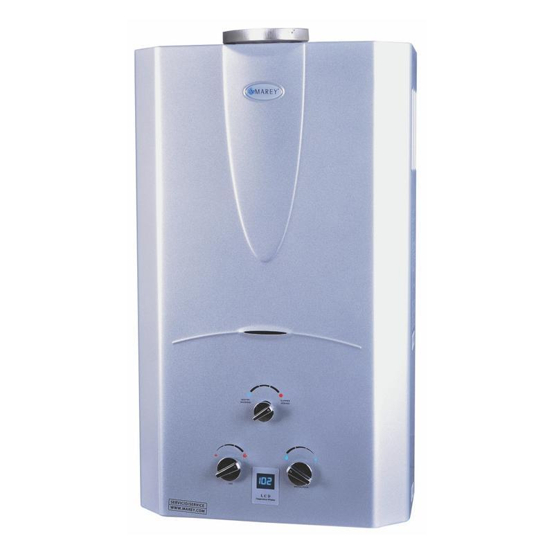 Marey 4.3 Gas Digital Panel Tankless Water Heater - ShopGreenLiving.com