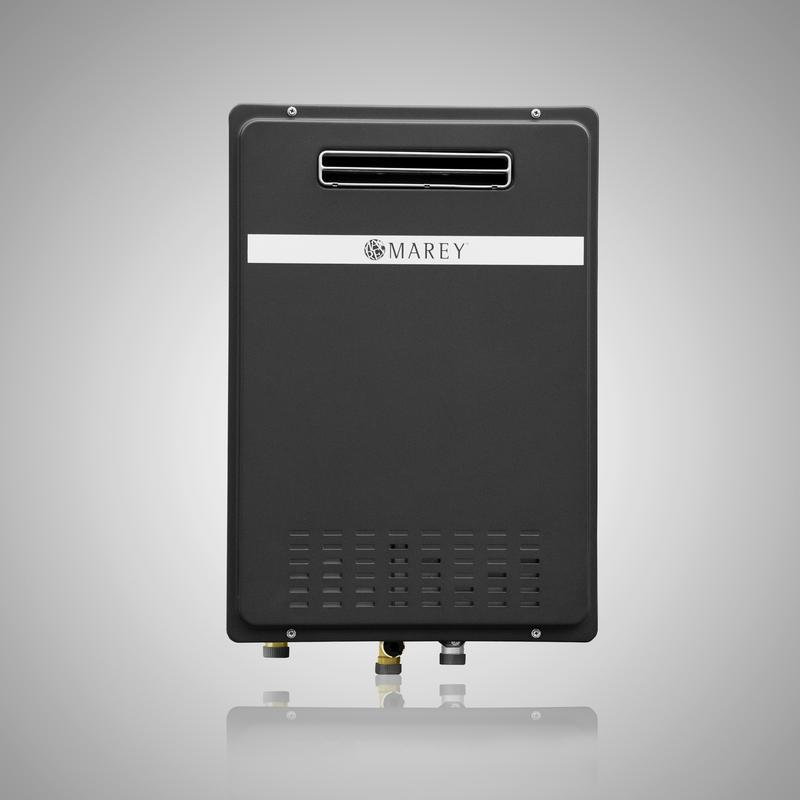 Marey Outdoor Gas 180,000 BTU's Tankless Water Heater - ShopGreenLiving.com