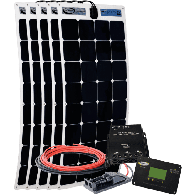 Go Power Solar Kit With Digital Controller - ShopGreenLiving.com
