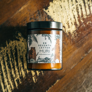 Bear Candle | Cinnamon Bun | Special Collaboration Candle