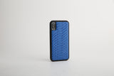 Luxury Blue Python Leather iPhone case - Eldadesign, , elda