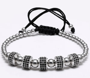 Super stylish Bead Bracelets with Pave Set - Eldadesign