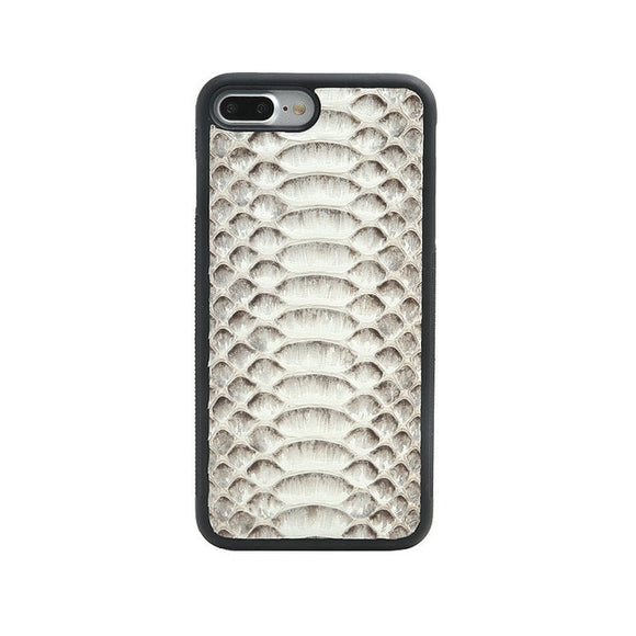Luxury Natural Python Skin iPhone Case all models - Eldadesign, Natural / for iphone 8, elda