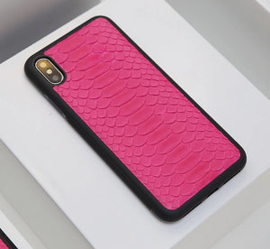 Pink python Skin case for all iphone models inc 11 /Pro - Eldadesign, , elda