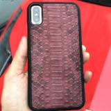 Luxury Python Skin leather iphone 7, X/Xs Case - Eldadesign