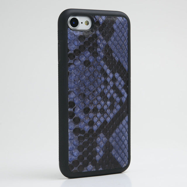 Luxury Genuine python skin Leather Case for iPhone all Models - Eldadesign