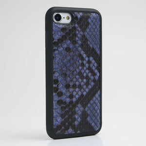 Luxury Genuine python skin Leather Case for iPhone all Models - Eldadesign, side pattern / for iphone 7, elda