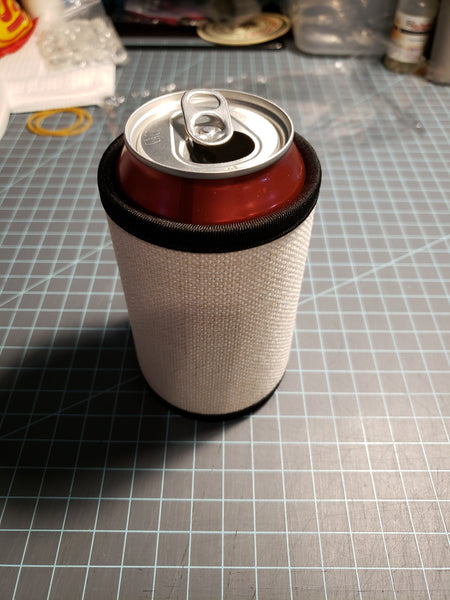 Linen Neoprene Can Wrap