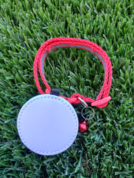 RTS - Reflective Pet Collars with bell and PU leather tag - Not Restocking