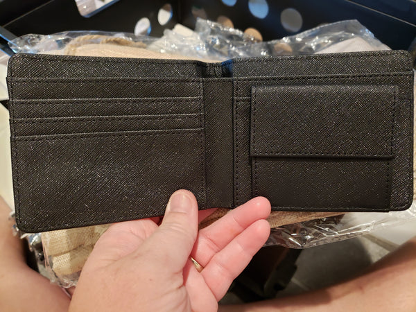 Men's Wallet w/coin pocket