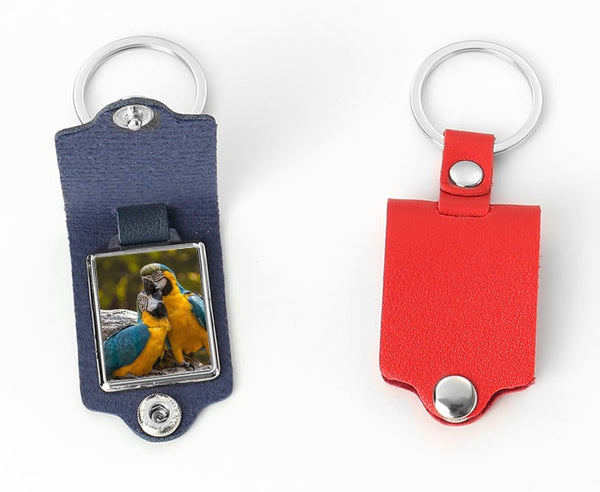 PRE-ORDER Leather Snap Keychains - CLOSING 6/19