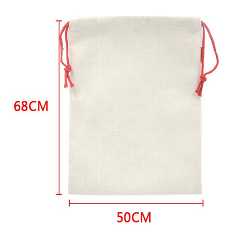 Large Linen Holiday Sacks
