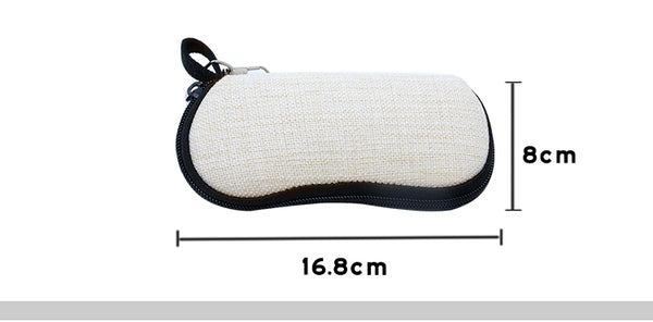 Glasses Case Linen Neoprene